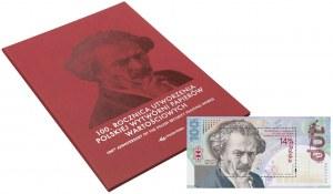 100-lecie PWPW - bloczek w formie banknotu