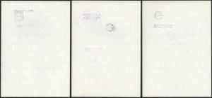 Obligacja Państwowa, 200 tys, 400 tys i 1 mln zł 1989 (3szt)