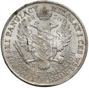 5 złotych polskich 1830 KG - Gronau - bardzo ładna