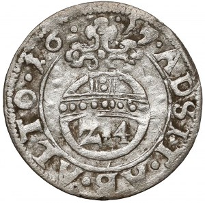 Pomorze, Franciszek I, Półtorak (Reichsgroschen) Koszalin 1617