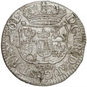 August III Sas, 1/24 talara 1756? FWóF, Drezno