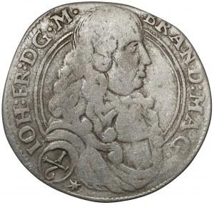 Niemcy, Brandenburgia-Ansbach, Johann Friedrich, 1/6 talara 1679