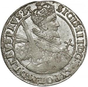 Zygmunt III Waza, Ort Bydgoszcz 1621 - PRVS.M - bardzo ładny