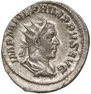 Rome, Philip I Arab, AR Antoninian - Aequitas