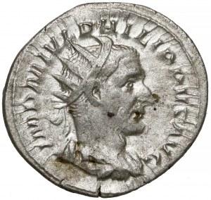 Rome, Philip I Arab, AR Antoninian - Fides
