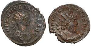 Roman Empire, Antoniani, Lot (x2)