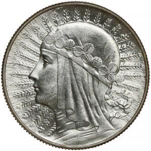 Głowa Kobiety, 5 złotych 1933