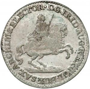 August III Sas, Grosz wikariacki 1741