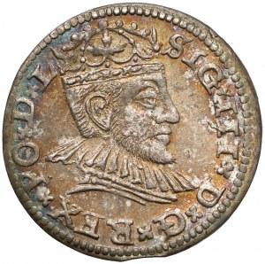 Zygmunt III Waza, Trojak Ryga 1591