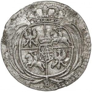 August III Sas, 1/48 talara 1757, Drezno - litera B