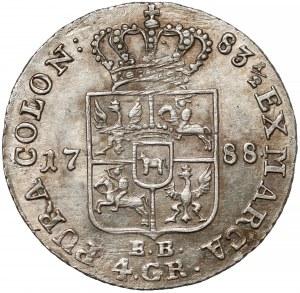 Poniatowski, Złotówka 1788 E.B.