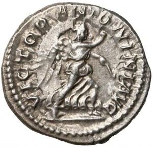 Cesarstwo Rzymskie, Elagabal, Denar Rzym (218) - Wiktoria - piękny