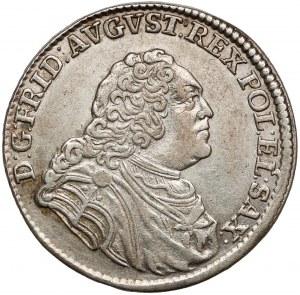 August III Sas, 1/6 talara 1763 EDC, Lipsk