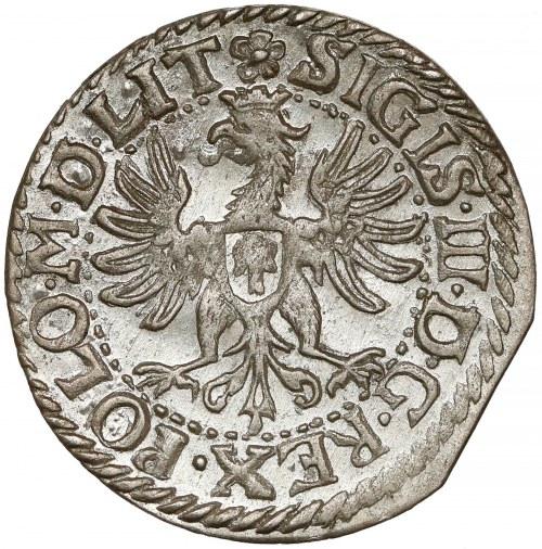 Zygmunt III Waza, Grosz Wilno 1610 - późny - PIĘKNY