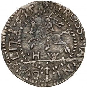 Zygmunt III Waza, Grosz Wilno 1615 - błąd SIGISS