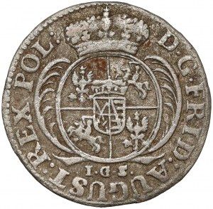 August II Mocny, 1/24 talara 1730 IGS, Drezno