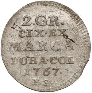 Poniatowski, Półzłotek 1767 F.S.