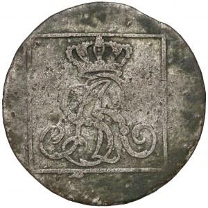 Poniatowski, Grosz srebrny 1777 E.B. - rzadki