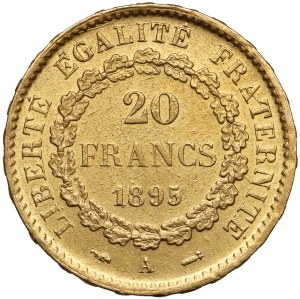 France, 20 Francs 1895-A, Paris