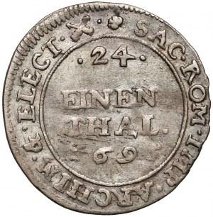 Niemcy, Saksonia, Fryderyk August I, 1/24 talara 1695 IK