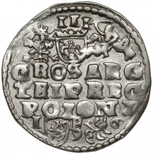 Zygmunt III Waza, Trojak Lublin 1596 - bardzo ładny