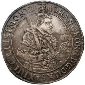 Niemcy, Saksonia, Jan Jerzy I Wettyn, Talar 1640 CR