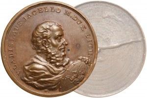 Medal SUITA KRÓLEWSKA - Władysław Jagiełło - odbitka jednostronna