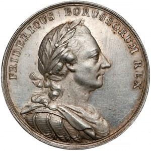 Prusy, Fryderyk II, Medal Pierwszy rozbiór Polski 1772 r. (43mm)