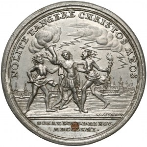 Poniatowski, Medal CYNA Porwanie króla 1771 r. (Oexlein)