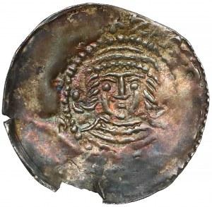 Wielkopolska, Władysław II Odonic (1207-1238), Denar jednostronny - rzadki