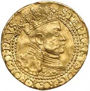 Stefan Batory, Dukat Gdańsk 1584 - nowe popiersie - RZADKI