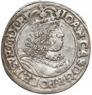 Jan II Kazimierz, Ort Toruń 1660 HDL - bez trójkąta - rzadki