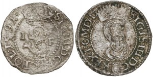 Zygmunt III Waza, Szelągi Olkusz 1591 i 1594 (2szt)