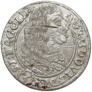 Śląsk, Ludwik IV Legnicki, 3 krajcary 1661 EW, Brzeg - GOLDb
