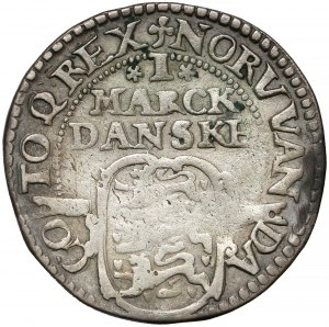 Denmark, Christian IV, 1 Mark 1617