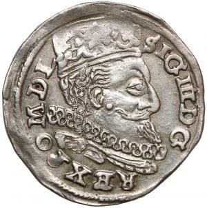 Zygmunt III Waza, Trojak Lublin 1598 - L z lewej