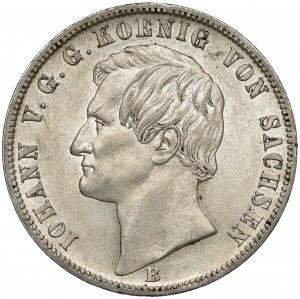 Niemcy, Saksonia, Talar 1871-B - Segen des Bergbaues