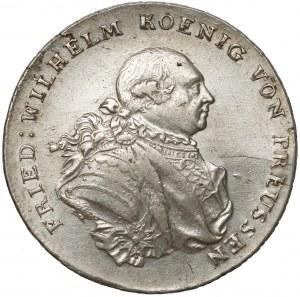 Niemcy, Prusy, Fryderyk Wilhelm II, Talar 1791-B