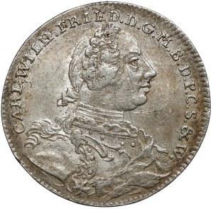 Niemcy, Brandenburgia-Ansbach, 1/6 talara 1755
