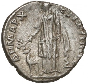 Traian, Arabia Bostra, AR Drachm, 98-117 AD