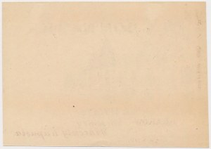 Kraków, Mleczarnia Hygeniczna, 2 korony (1919) - blankiet