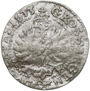 Prusy, Jerzy Wilhelm, Grosz Królewiec 1633 - rzadkość