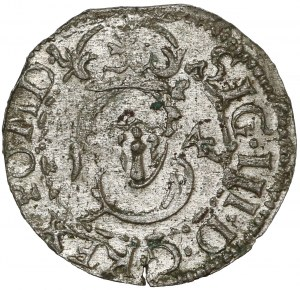 Zygmunt III Waza, Szeląg Wilno 1614 - strzała