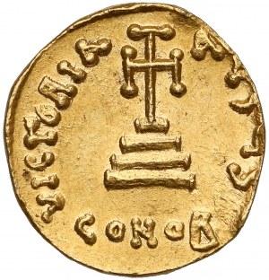 Bizancjum, Konstans II (641-668), Solidus Konstantynopol