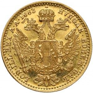 Austria, Franciszek Józef I, Dukat 1883