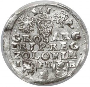 Zygmunt III Waza, Trojak Poznań - bez daty - rzadki