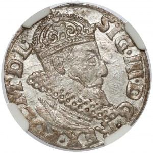 Zygmunt III Waza, Trojak Kraków 1620 - błąd POL/NONI