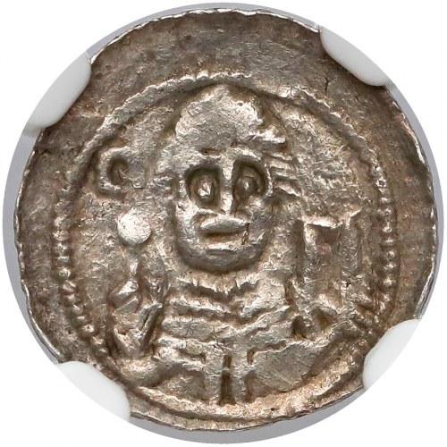 Władysław II Wygnaniec, Denar - Książę i Biskup - gwiazda i S