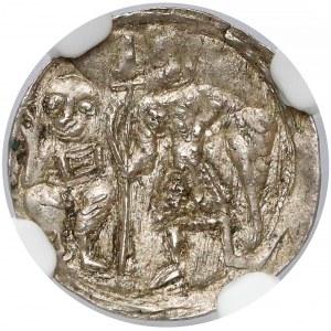 Bolesław III Krzywousty, Denar - Rycerz i św. Wojciech
