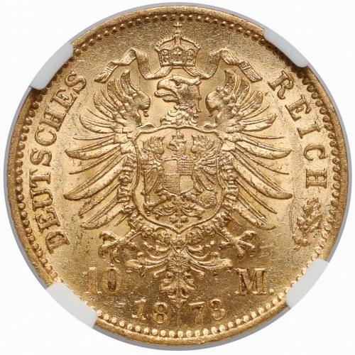 Niemcy, Prusy, Wilhelm I, 10 marek 1873-A